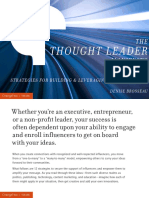 The Thought Leader Manifesto