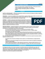 Tema 1 Inmunología