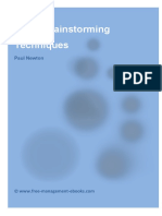Brainstorming Techinques.pdf