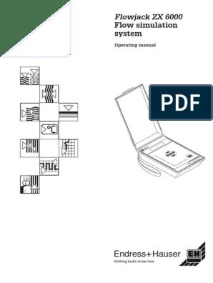 Endress & Hauser Flowjack Specification | Flow Measurement