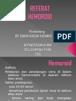 Hemoroid Tutorial