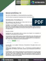 Manual Prestashop Factoria Digital 2015