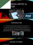 multimedia artist   animator