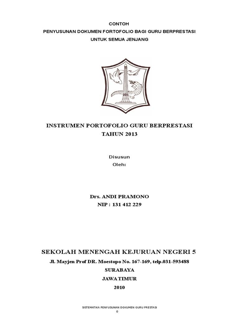 Panduan Dokumen Fortofolio Doc