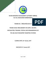 Final Tender Document _ Telemetric Equipments