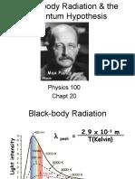 Physics 100 Chapt 20