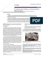 Anatomy of the Lingual Vestibule and Its Influence on Denture Borders 2161 0940.1000122