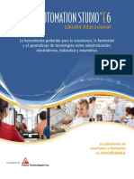 Automation Studio E6 Brochure Spanish Low