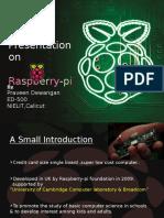 Pptraspberrypipraveen Presentation