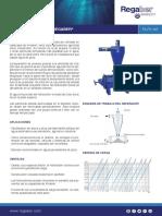 FA-F5-185 - Filtro Hidrociclón Regaber®