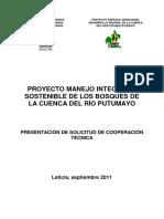 Manejo Integral y Sostenible Del Bosque en El Corregimiento de Tarapaca
