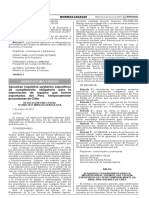 Aprueban requisitos sanitarios específicos de cumplimiento obligatorio para la importación de equinos que fueron exportados del Perú temporalmente procedentes de Chile