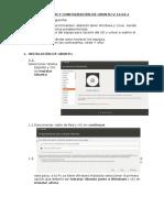 Instalación y Configuración de Ubuntu