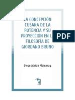 Molgaray Diego Adrian - La Concepcion Cusana de La Potencia Y Su Proyeccion en La Filosofia de Giordano Bruno