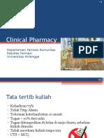 2016 01 Pengantar Farmasi Klinik