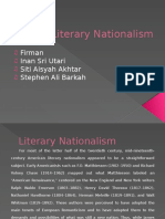 Literary Nationalism