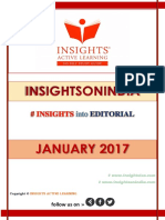 Insights Into Editorial Jan 2017
