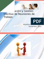 Comunicación y Gestión Efectiva de Reuniones de Trabajo 20015