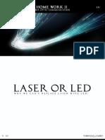 Laser  vs Led