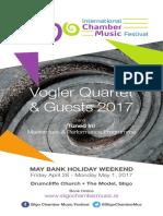 Sligo International Chamber Music Festival 2017