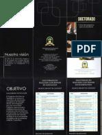 Brochur Doctorado Enero 2015