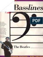 Beatles - Basslines
