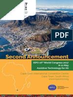 ISPO Second Announcement