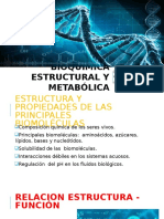 Bioquímica Estructural y Metabólica