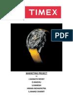 Timex - Marketing Mix