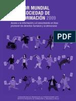 MONITOR MUNDIAL DE LA SOCIEDAD DE LA INFORMACIÓN (MMSI) 2009