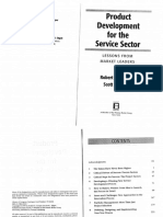 Product Development for the Service Book Part 1