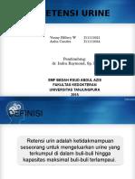Aulia-Venny DT Retensi Urin Dr. Indra