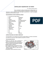 Requerimientos Para Repotenciar Motor
