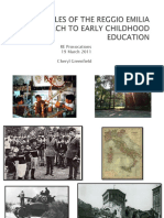 PRINCIPLES OF REGGIO EMILIA APPROACH TO EARLY CHILDHOOD Powerpoint 2011.pdf