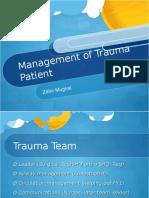 Management of Trauma Patient