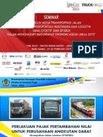 Moersalin Ananda Putra - Sistem Perpajakan Untuk Perusahaan Angkutan