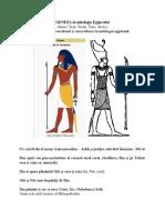 Geneza in Mitologia Egiptului