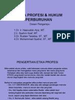 ETIKA PROFESI (PENGERTIAN)