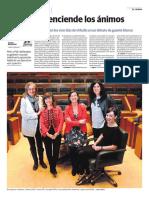 Parlamentarias examinan los primeros 100 días de Urkullu