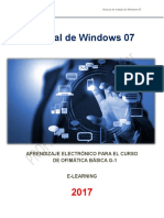 Manual Windows 7 - 2017