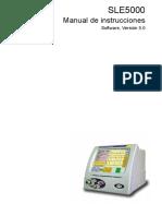 5205 - Ventilador Mecánico Neonatal - Manual de Usuario
