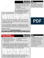 Men's Health Recipes