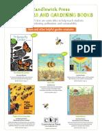 Candlewick Press Pollinators and Gardening Books