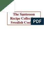 Santesson Recipe Collection Swedish Cooking