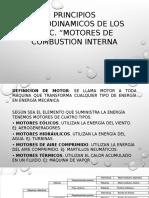PRINCIPIOS TERMODINAMICOS FUNDAMENTALES  DE LOS MOTORES.pptx