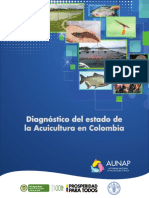 25 Diagnóstico Del Estado de La Acuicultura en Colombia