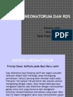 Asfiksia Neonatorum Dan RDS