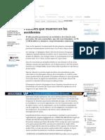 Peatones Que Mueren en Los Accidentes - Archivo - Archivo Digital de Noticias de Colombia y El Mundo Desde 1.990 - Eltiempo