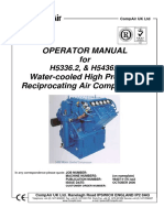 Compair 5336 5436 Mk2 Operator Manual