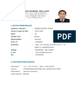 Gómez Rivera Cv